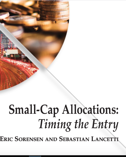 Small-Cap Allocations: Timing the Entry
